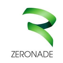 ZERONADE-Logo auf weißem Hintergrund