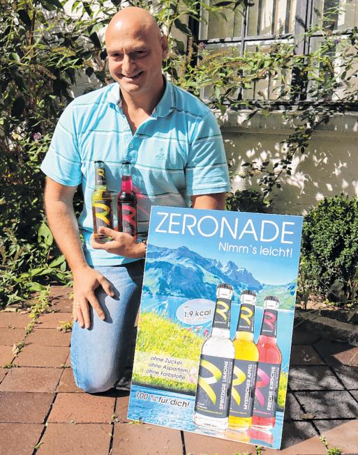 Harald König mit seiner neuen ZERONADE in der Unterallgäu Rundschau