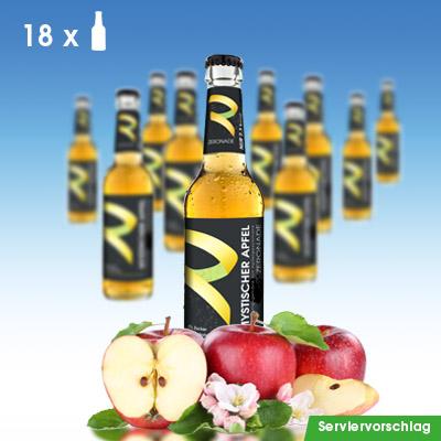 18 Flaschen ZERONADE MYSTISCHER APFEL für Diabetiker