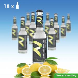 18 Flaschen ZERONADE SPRITZIGE LIMONE / Zitrone für Diabetiker