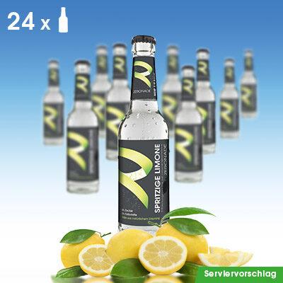 24 Flaschen ZERONADE SPRITZIGE LIMONE / Zitrone für Diabetiker
