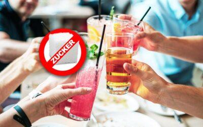 Getränke ohne Zucker